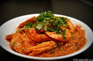 Chilli Prawn, cousin