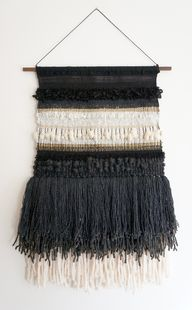 Fiber Art weaving by