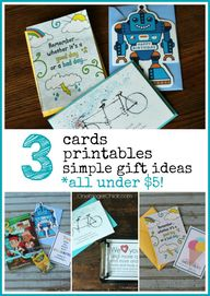 3 Card gift giving i