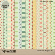 CU Patterned Papers