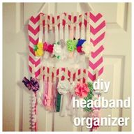 diy headband organiz