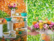 mesa colorida primav