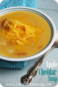Apple Cheddar Soup R