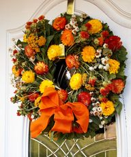 Pretty fall wreath i