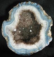 Agate Geode w/ smoke