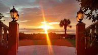 Sunset on the Gulf o