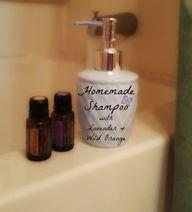 Homemade Shampoo wit