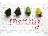 Christmas tree pom p