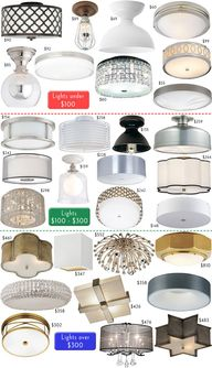 Flush Mount Ceiling