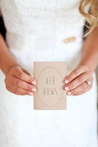 Adorable vow book: h