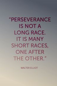 Perseverance is not