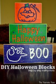 DIY Halloween Wooden