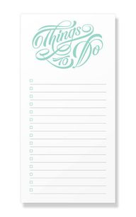 Typographic Notepads