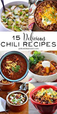 15 Delicious Chili R
