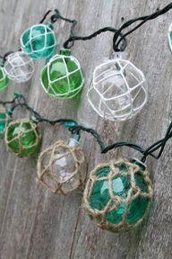 Glass Float String L