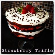 Strawberry Trifle by