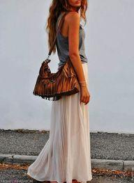 boho style #fringe...