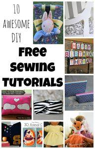 10 DIY Free Sewing T