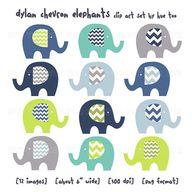 elephant clip art, c
