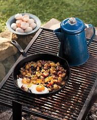 Campfire Fried Eggs
