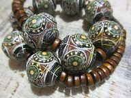 Ethnic beads from po