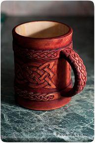 Celtic mug by pagan-