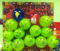 Angry Bird Countdown to the end of the year.  Pop a balloon for each day and there is an activity inside.  Created by: April Wolfe  from Wolfelicious.blogspot.com