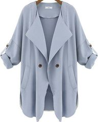 Pretty Blue Trench C