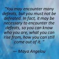 Maya Angelou... 'Sti