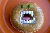 Make Dracula donuts