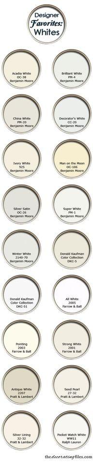 White Paint Colors: