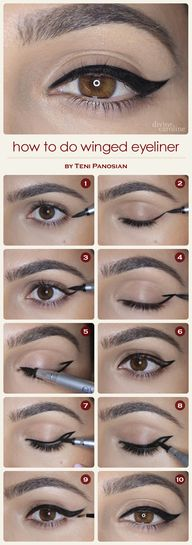 How to Do Winged Eye