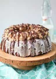 German Chocolate Bun