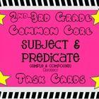 -Subject & Predicate