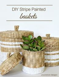 DIY Stripe Painted B