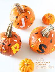 Mess-free pumpkin de