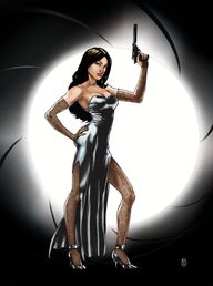 James bond Girl by s