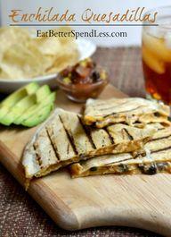 Enchilada Quesadilla