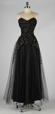 Elegant vintage 1950