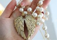 Pearl Laced Angel Wi...