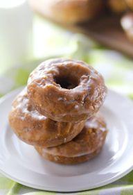 Glazed Pumpkin Donut