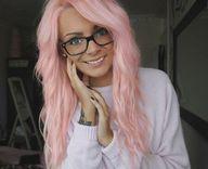 light #pink #hair