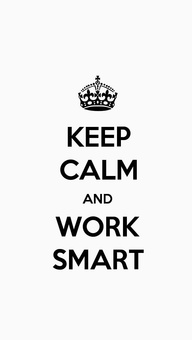 KEEP CALM AND WORK S