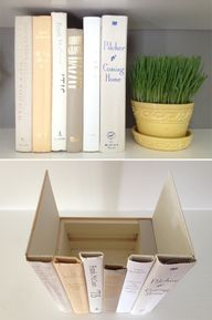 Make a book box to h