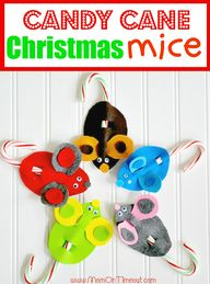 Candy Cane Mice Chri