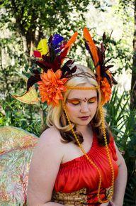 Phoenix Headdress  F