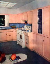 Kitchens of the 30s, 40s, 50s and early 60s
