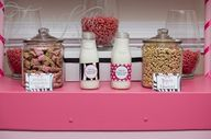 DIY Cereal Bar at a