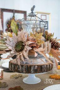 Fall centerpiece