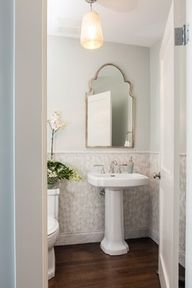 Powder Room Design I